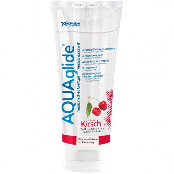 Aquaglide Glidmedel med Smak 100 ml  3