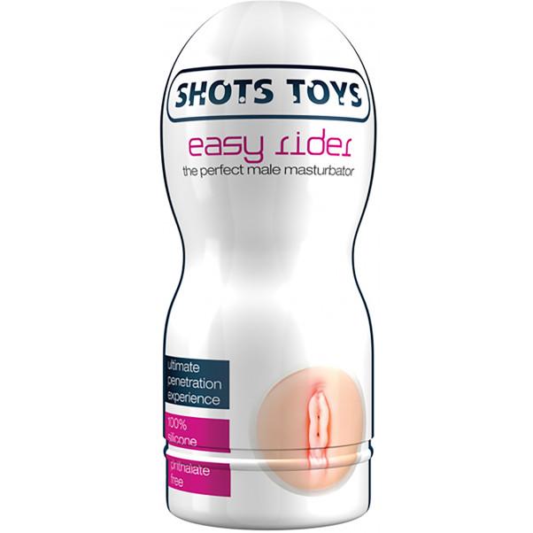 Shots Toys Easy Rider Vagina  1