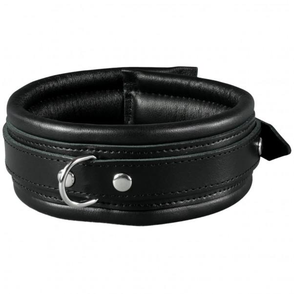 SToys Svart Läderhalsband  1