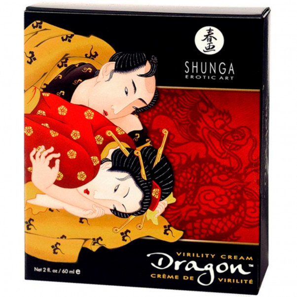 Shunga Dragon Stimulerande Fördröjningskräm 60 ml  2