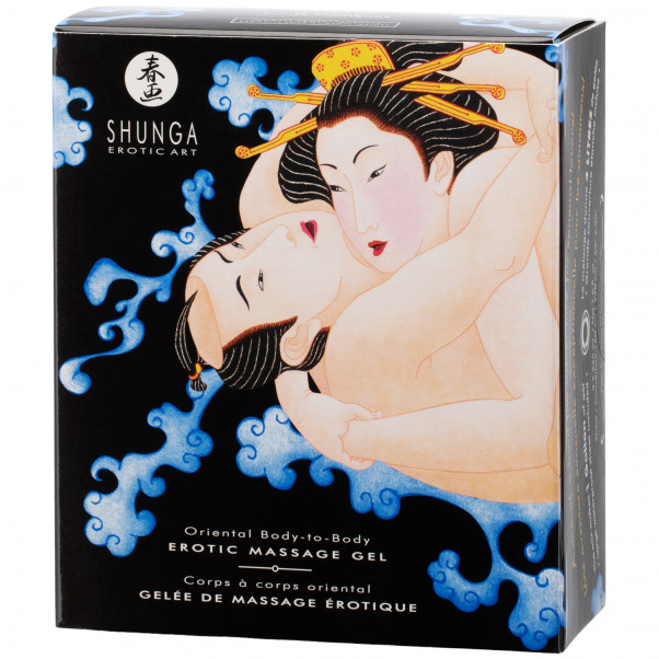 Shunga Body Slide Massage Gel Set 2 x 225 ml  10