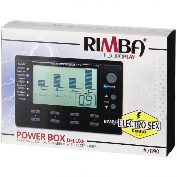 Rimba Digital Elektro Sex Box 4 Kanaler bild på förpackningen 90