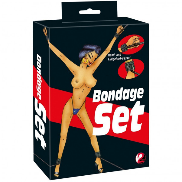 Bondage Kit Med Kardborreband Manschetter  4