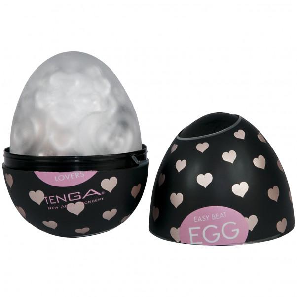 TENGA Egg Easy Beat Handjob för Män produkt i hand 2