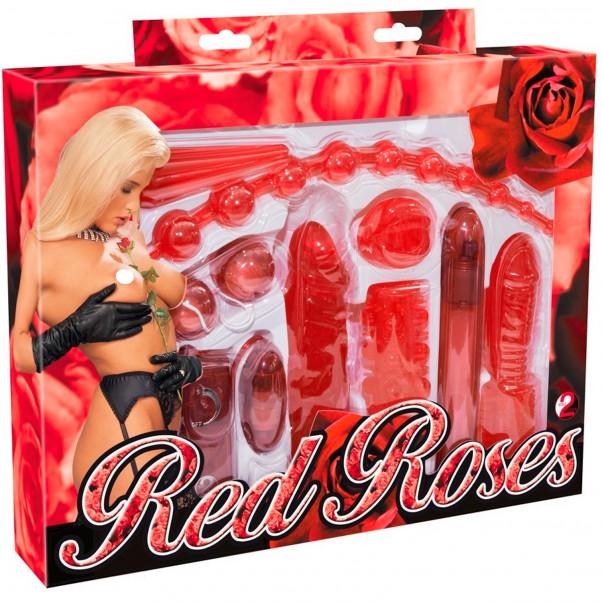 Red Roses Sexlegetøj Startpakke 9 dele  11
