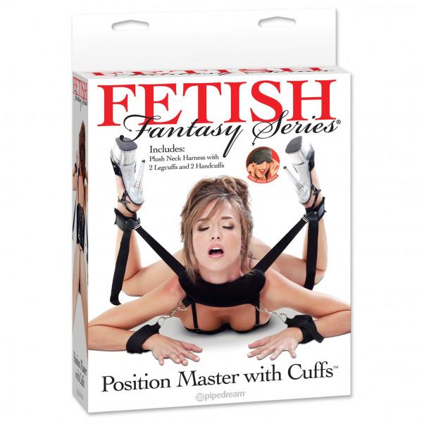 Fetish Fantasy Bondage Sele med Manchetter