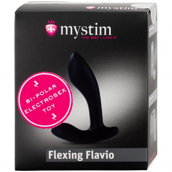 Mystim Flexing Flavio Silikon Elektro Analplugg  100