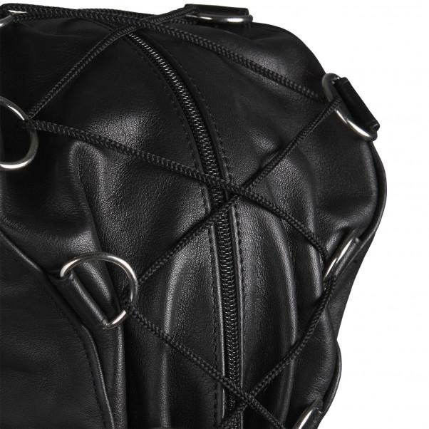 Rimba Justerbar Läder Mask produktbild 5