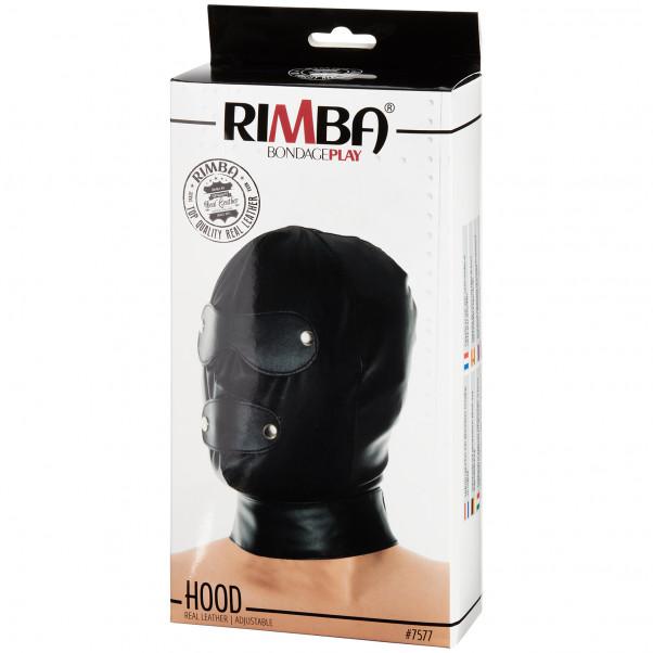 Rimba Justerbar Läder Mask bild på förpackningen 90