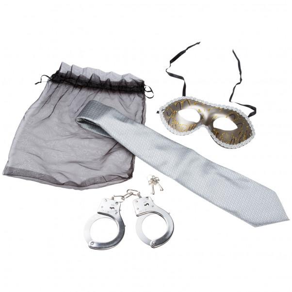 Sex & Mischief Trilogy Kit för Mjuk Bondage  1