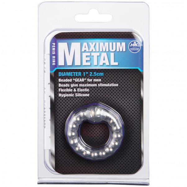 Maximum Metal Penisring bild på förpackningen 90