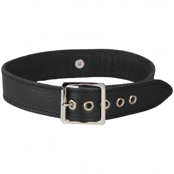 Rimba Läder Halsband med O-Ring produktbild 2