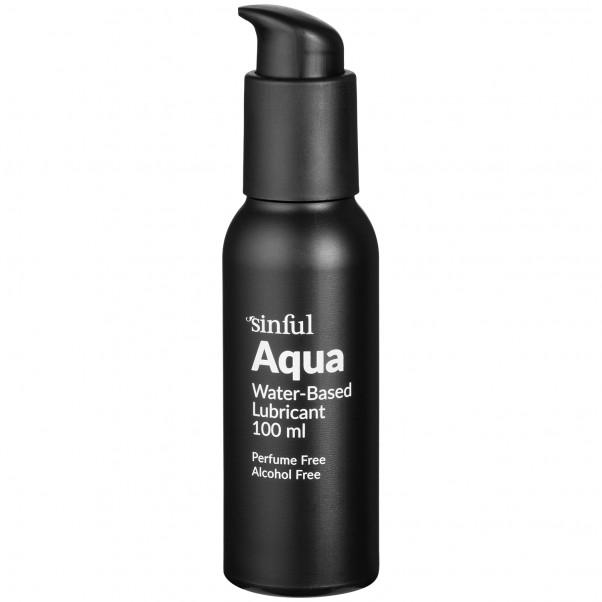 Sinful Aqua Vattenbaserat Glidmedel 100 ml  1