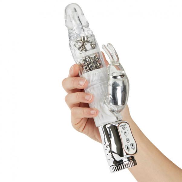 Max Passion Silver Glide Rabbit Vibrator