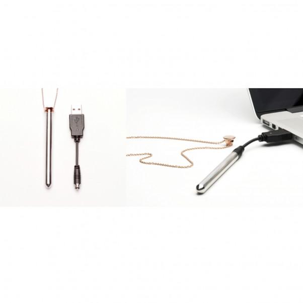 Crave Vesper Halsband med Vibrator  4