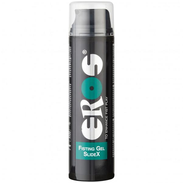 Eros Fisting Gel SlideX 200 ml produkt i hand 1