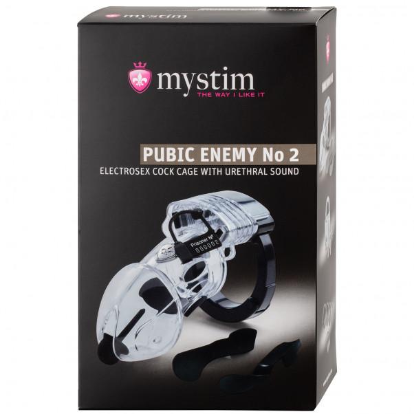 Mystim Pubic Enemy No. 2 Elektro Kyskhetsbälte  100