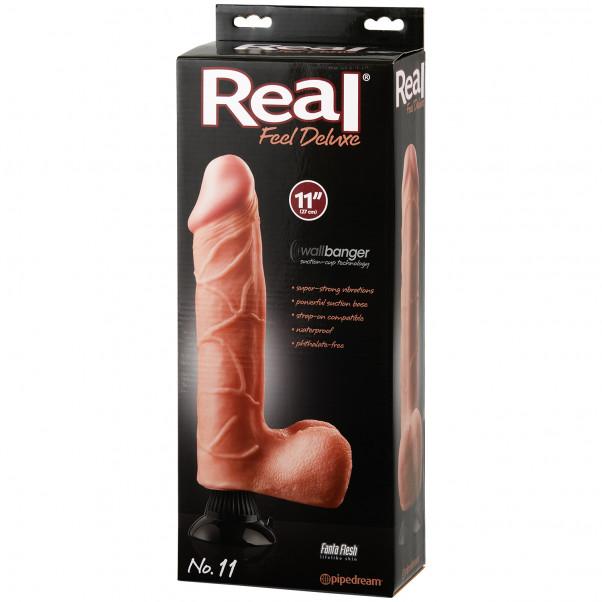 Real Feel Deluxe No. 11 Dildovibrator 28 cm bild på förpackningen 90