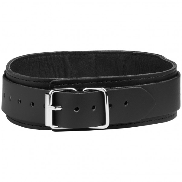 Spartacus Läderhalsband med D-ring produktbild 2
