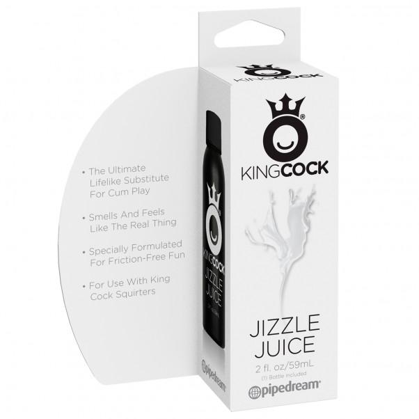 King Cock Jizzle Juice Vandbaseret Glidecreme 59 ml  2