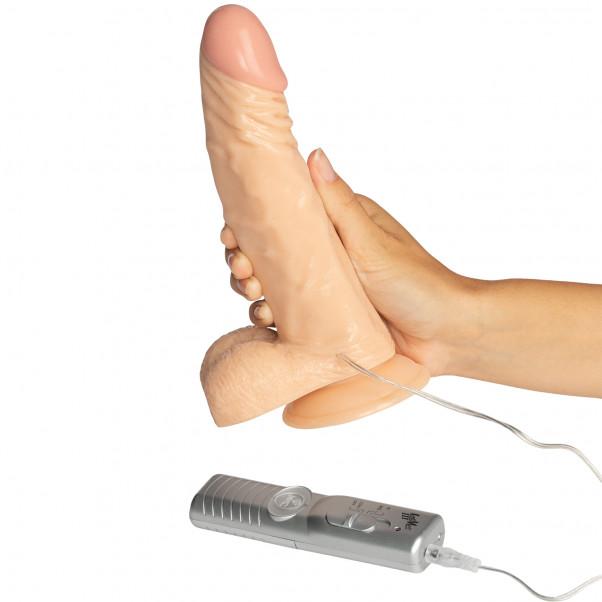 NMC Potent Plunger Strap-on Set med Vibrerande Dildo 20 cm  50