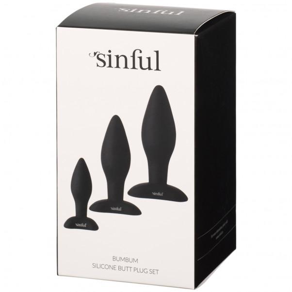 Sinful BumBum Silikon Analplugg Set Produktbild 5