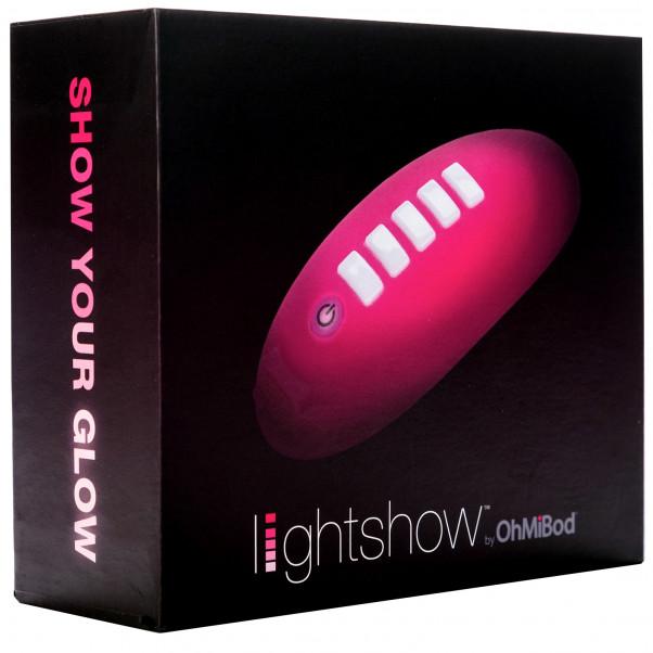 OhMiBod Lightshow Appstyrd Klitorisvibrator bild på förpackningen 90