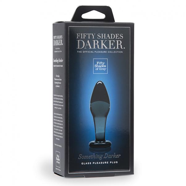 Fifty Shades Darker Something Darker Glas Butt Plug
