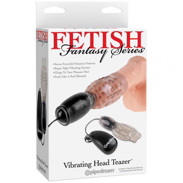 Fetish Fantasy Vibrerande Head Teazer Masturbator  10