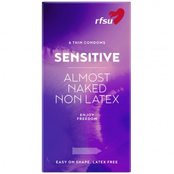 RFSU Sensitive Almost Naked Latexfria Kondomer 6 st  1