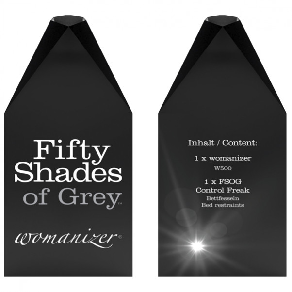 Fifty Shades of Grey Womanizer W500 Gaveæske