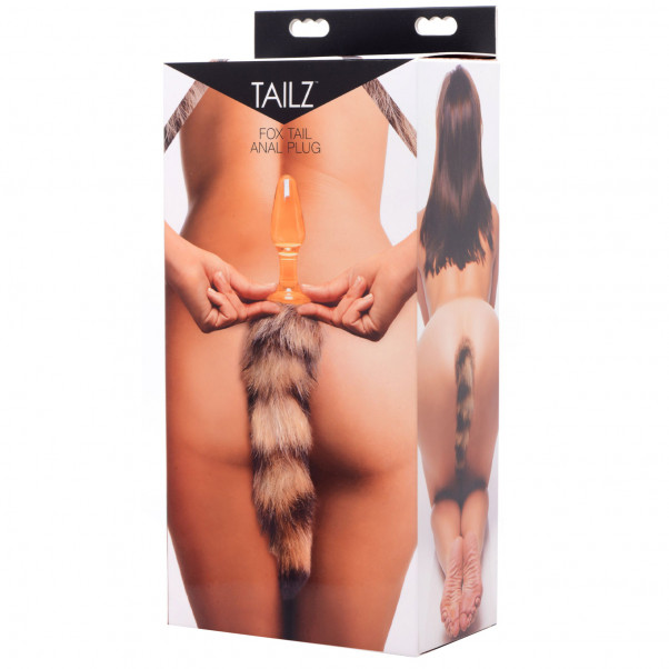 Tailz Fox Tail Glas Analplugg  5