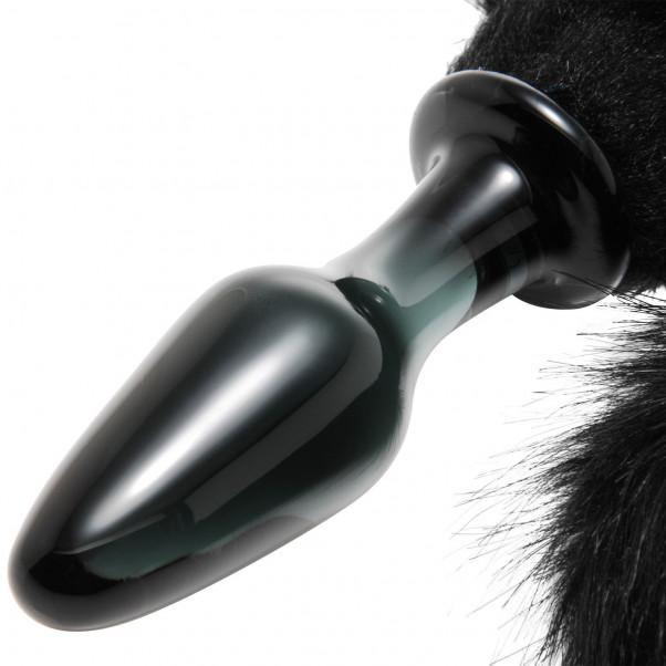 Tailz Midnight Fox Tail Glas Analplugg  2