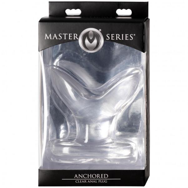 Master Series Anchored Analplugg Klar  100