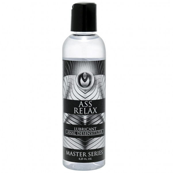Master Series Ass Relax Glidmedel 125 ml  1