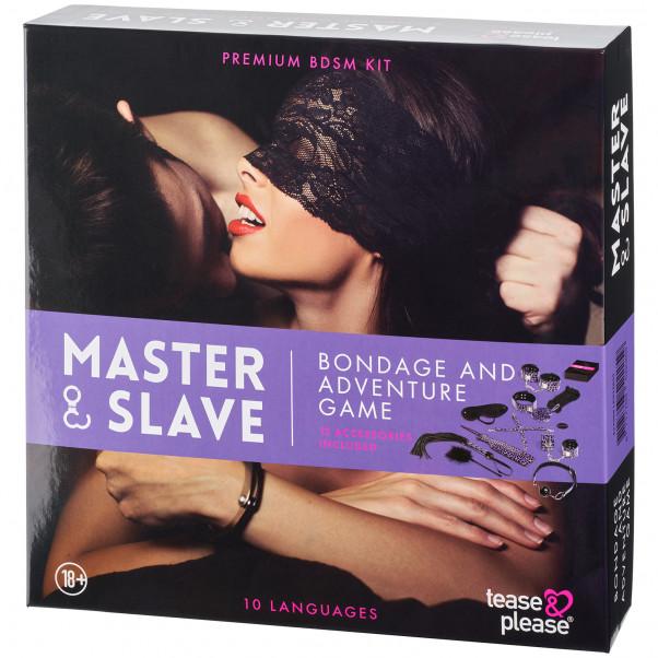 Master & Slave Bondagespel för Par bild på förpackningen 90