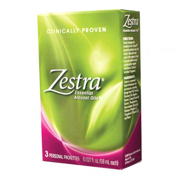 Zestra Stimuleringsolja för Klitoris 12 ml  2