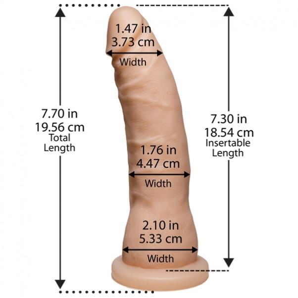 Truskyn The Tru Ride Slim Dildo 18 cm