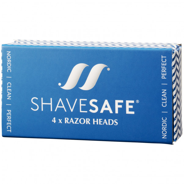 ShaveSafe Razor Super Blade 4 st  100