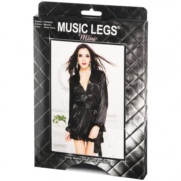 Music Legs Langærmet Kimono med Blondekanter Pack 90