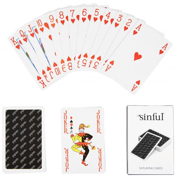 Sinful Spelkort  2