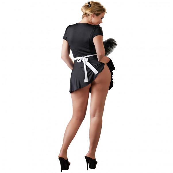 Cottelli French Maid Hushållerskedräkt Plus Size  2