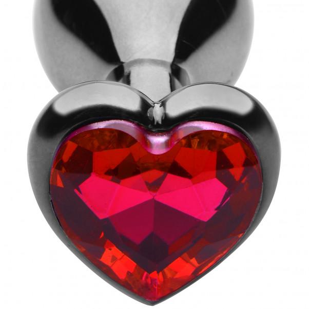 Master Series Crimson Tied Scarlet Heart Analplugg  2
