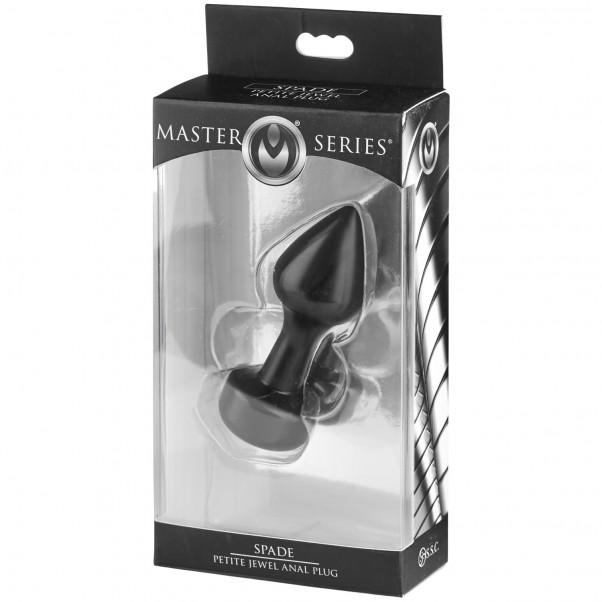 Master Series Spade Petite Aluminium Analplugg  4