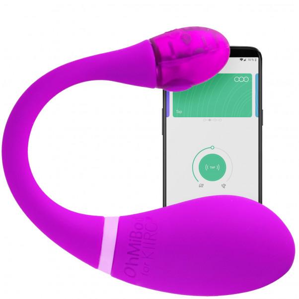 OhMiBod Esca2 Appstyrt Vibratorägg produkt och app 1