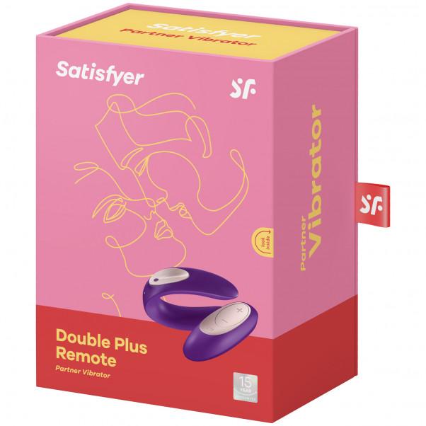 Satisfyer Double Plus Fjärrstyrd Parvibrator Produktförpackning 90