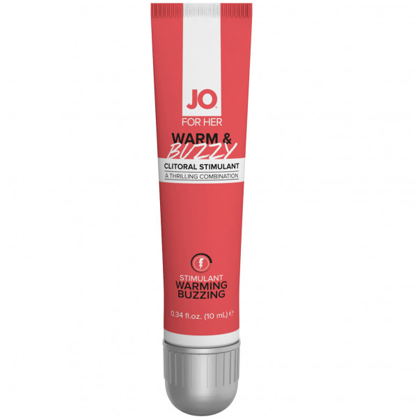 System Jo Warm and Buzzy Klitoriskräm 10 ml  1