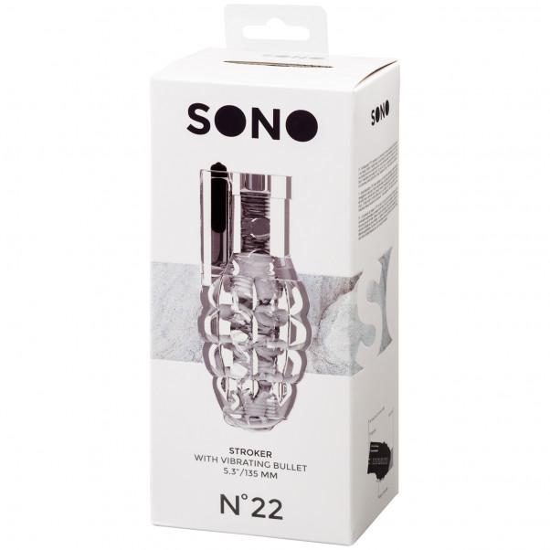 Sono No 22 Stroker Onaniprodukt med Vibrator  100