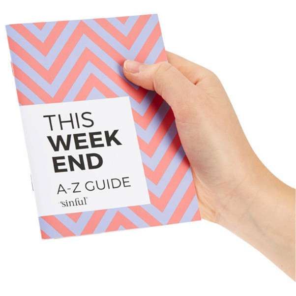 Sinful This Weekend Sexleksaksset med A-Z Guide  4