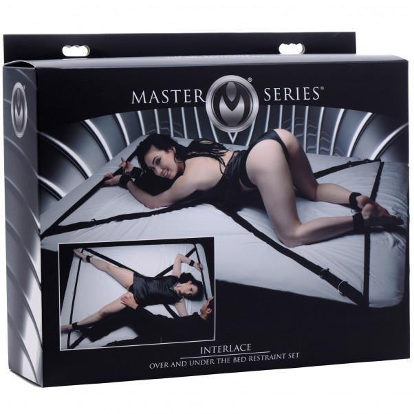 Master Series Interlace Bondageset till Sängen  4